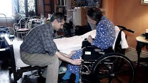 patient transfer bed to wheelchair