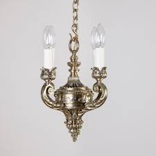 neo classical brass chandelier