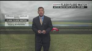 FLASH FLOOD WATCH IN EFFECT WEDNESDAY ...