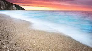 Ocean Beach Sunset 4K Ultra HD Desktop ...