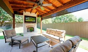 outdoor kitchens patio covers fort