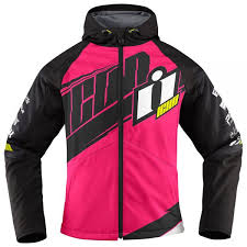 motorcycle jackets woman celebrate icon team merc woman pink icon helmets uk