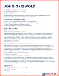 Administrative Assistant Resume Templates 2017 Best Of Unique Administrative Assistant Resume Examples 24 Personal 24