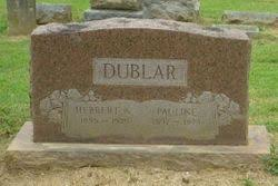 "Herbert Avery ""Herb"" Dublar Sr. (1895-1975) - Find A Grave Memorial"