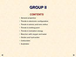 GROUP II CONTENTS ©HOPTON General properties - ppt download