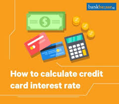 Credit Card Interest Calculator How To Calculate Credit Card Interest Rate