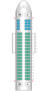 Delta Connection Seating Chart Economy Embraer 175 Delta Connection Seat Maps