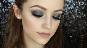 blue smokey eye makeup tutorial makeup videos