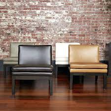 west elm leather chair west elm dining chair slipcovers
