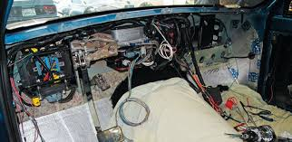 chevy c10 wiring harness chevy image wiring diagram 1967 chevy c10 buildup isis three cell wiring harness truckin on chevy c10 wiring harness
