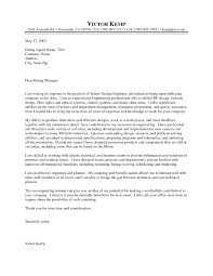 Sample Cover Letter For Resume Resume For Your Job Application