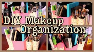 diy makeup organization caddy you