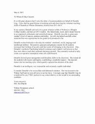 Letter Of Recommendation From Alumni Beautiful Danielle S Re