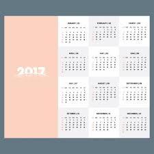 Calendar Free Downloads 2017 Calendar Template Of Pastel Color Vector Free Download