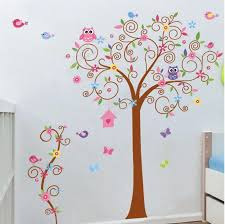 baby girl nursery wall art stickers