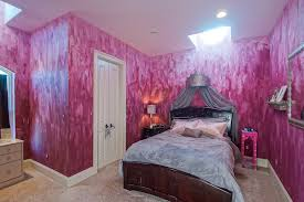 ideas for girls bedrooms. girls bedroom with violet paint brushed walls ideas for bedrooms r