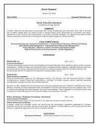 Executive Assistant Resume Templates Resume Samples Executive Assistant Valid Executive Assistant Resumes