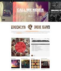 Html Website Templates Amazing 48 Best HTML Website Templates For Bands Musicians Web Graphic