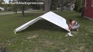 How to Assemble a King Canopy 10' x 20' <b>6</b>-Leg Universal Canopy ...