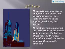 Laws Of Motion Examples Some Examples Of Newtons Third Law Of Mmotion In Hindi