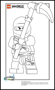 Ninjago Jay Coloring Pages With Lego Ninjago Cole Coloring Pages