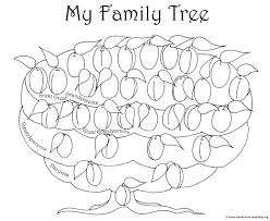 Family Tree Templates Kids Blank Family Trees Templates And Free Genealogy Graphics