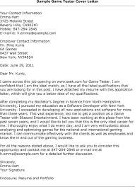 cover letter for qa tester experience resumes qa tester cover letter