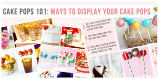 Cake Pop Display Stand Diy Beauteous Cake Pops 32 Tips Tricks Great Ideas On How To Display Your