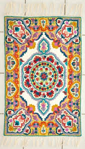 colourful wool rugs mandala rug very colorful hand knotted