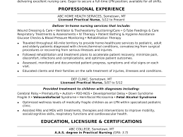 Resume Examples For Nurses Registered Nurse Rn Sample Monster Com