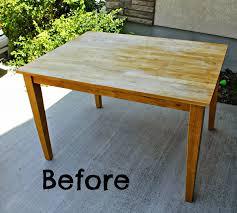Refinish Kitchen Table Top Kitchen Table Refinish Ideas Miserv