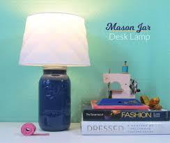 Diy Mason Jar Desk Lamp