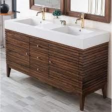 Allmodern Mosley 58 75 Double Bathroom Vanity Set Reviews Wayfair