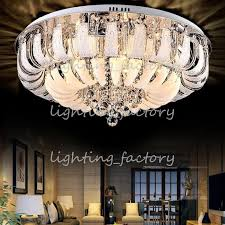 modern round crystal chandeliers minimalist ceiling lamp e14 led glass chandelier hang lights living room bedroom decoration whole chandeliers led