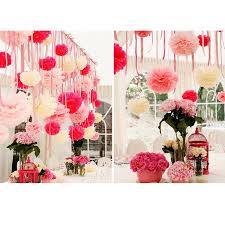 Hanging Paper Flower Balls Us 0 94 24 Off Qifu 5pc Birthday Party Decorations Kids Boy Honeycomb Balls Hanging Paper Flowers Ball Wedding Decoration Table Garden White In