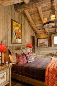 Paint colors and more for cozy westernsouthwestern master bedroom