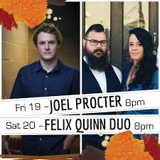 Joel Procter and Felix Quinn Music live... - Mavericks on Darby | Facebook