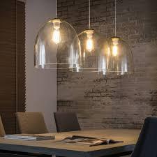 Moderne Hanglamp De Hanglamp Ace 3lichts Glas Mat Nikkel Van Belaluz
