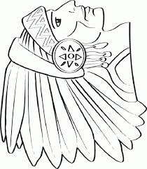 Elegant Native American Indian Girl Coloring Pages Nichome