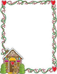 christmas candy border. Plain Candy A Border Or Frame Featuring Christmas Candy Canes And A Gingerbread House  Stock Vector  7908621 And Candy Border M