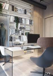Home Designs: Home Office 2 - Industrial Style