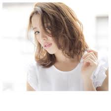 髪型ミディアムパーマスタイル Acqua