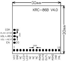 krc 86b bluetooth 4 0 stereo audio receiver module sale banggood com  at Krc 86b Bluetooth Wiring Diagram