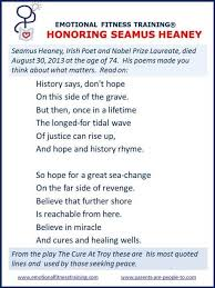 best seamus heaney poems ideas seamus heaney  in honor of seamus heaney his most quoted lines