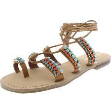 Ivanka Shoes Flat Womens Trump 6 B M Sandals 6486 Bhfo
