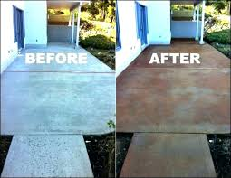 concrete painted patios paint vs stain concrete patio concrete stain vs paint new patio concrete stain