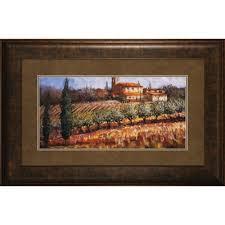 framed tuscan wall art wayfair