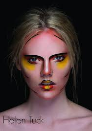 helentuck s entry for the 2016 face2face makeup awards in sydney