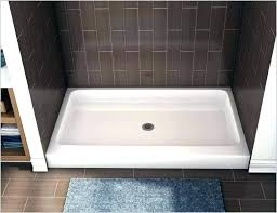 fiberglass shower pan with tile walls install fiberglass shower pan shower pans for tile shower base