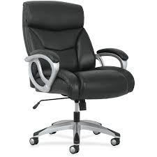 basyx by hon big tall leather high back executive chair bsxvst341